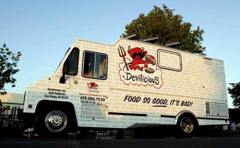 7. Devilicious, one of San Diego's rising-star food trucks.