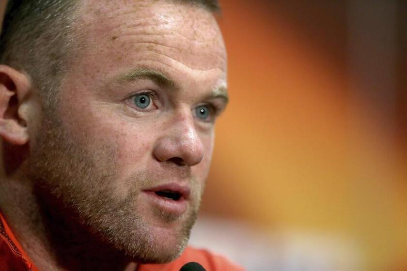 En la imagen, el delantero inglés Wayne Rooney. EFE/Archivo