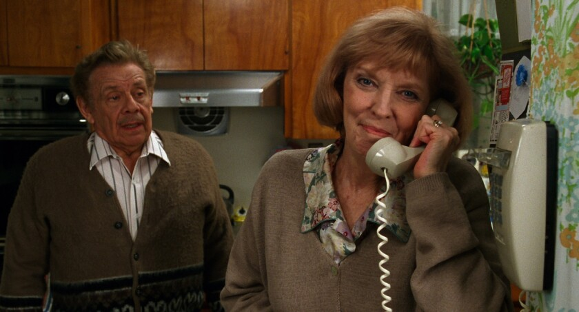 Jerry Stiller and Anne Meara in the 1999 movie 'A Fish in the Bathtub'