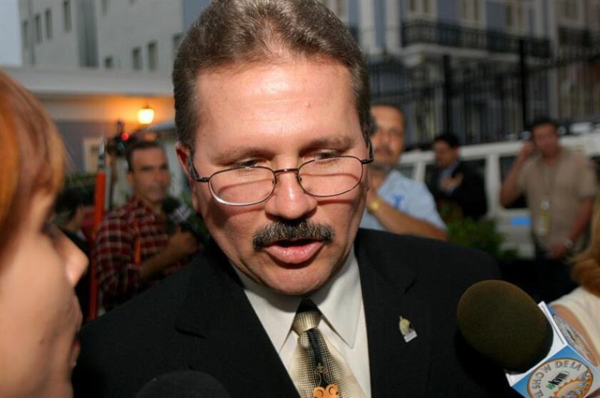 El presidente de la Comisión de Relaciones Federales, Internacionales y de Estatus de la Cámara de Representantes de Puerto Rico, José Aponte. EFE/Archivo