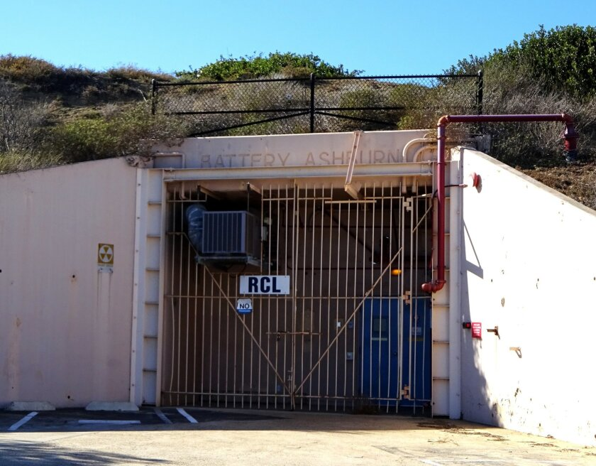 The reinforced concrete casement of Battery Ashburn protected the massive guns installed to protect the coast from Japanese battleship fire during World War II.