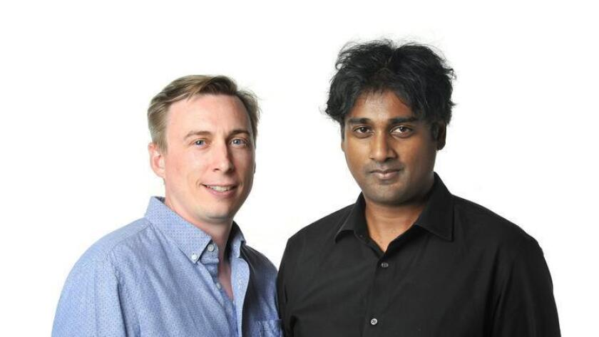 Reflexion co-founders Spencer Hutchins and Ravi Komatireddy. (Rick Nocon)