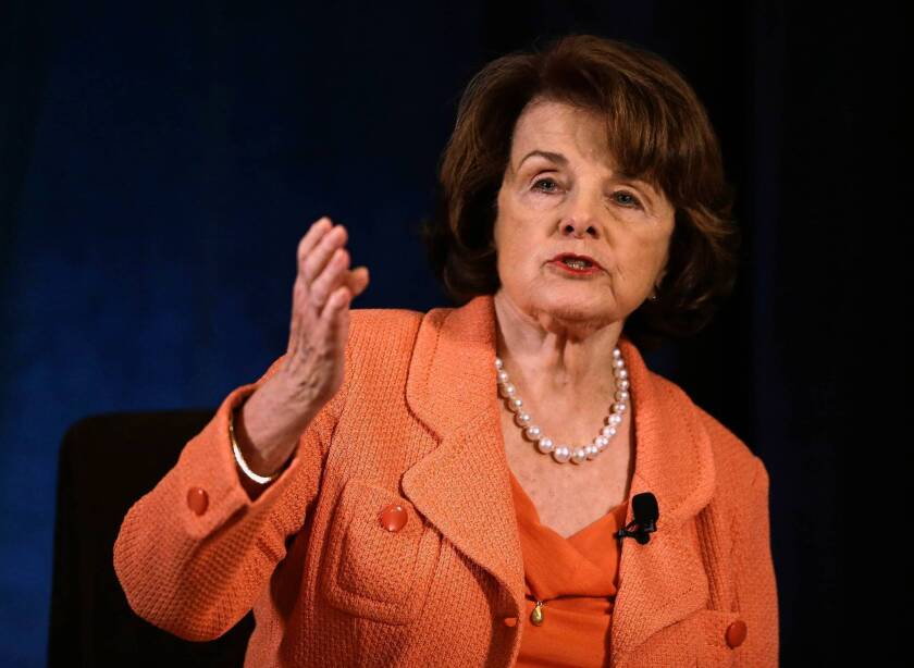 Sen. Dianne Feinstein (D-Calif.) brokered an accord between farm labor unions and growers on a bill proposing conditions, wages and visas for migrant agricultural workers.
