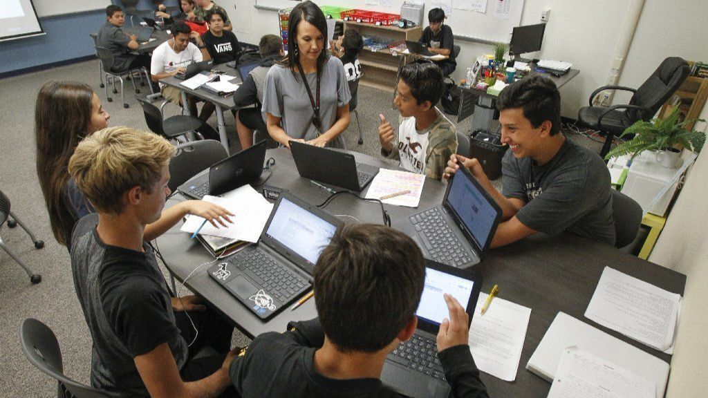 Vista High transitioning to 'personalized learning' program