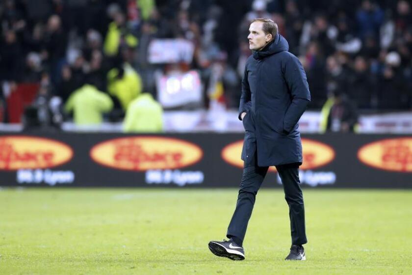 El entrenador del París Saint-Germain (PSG), Thomas Tuchel. EFE/Archivo