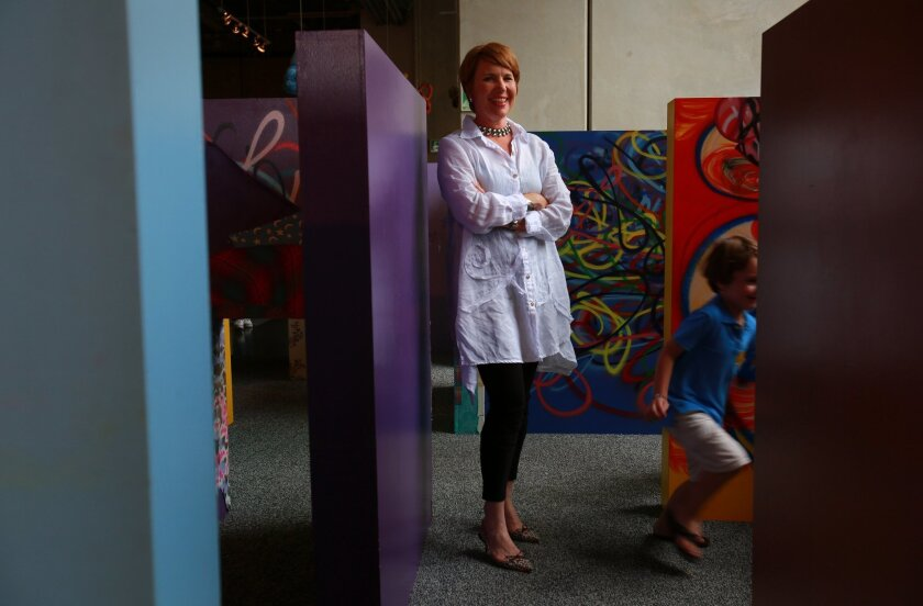 Julianne Markow, director of The New Children's Museum downtown.
