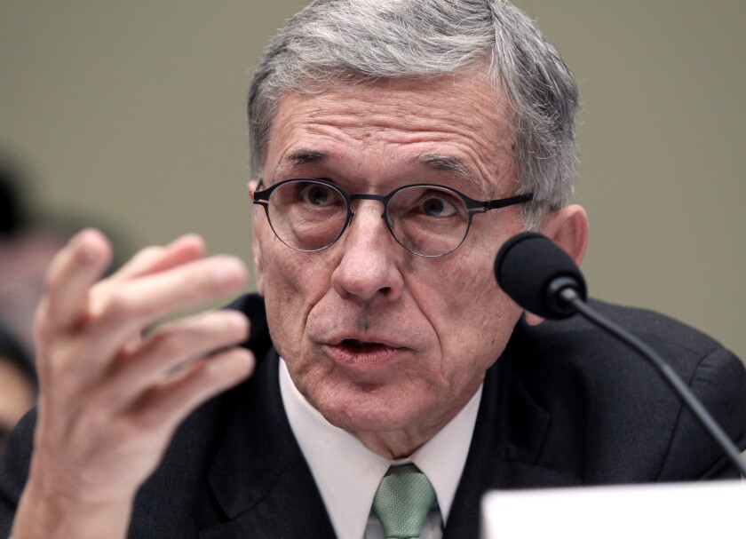 FCC Chairman Tom Wheeler, shown in 2015, wants to give consumers the option to get video service without renting a cable box.