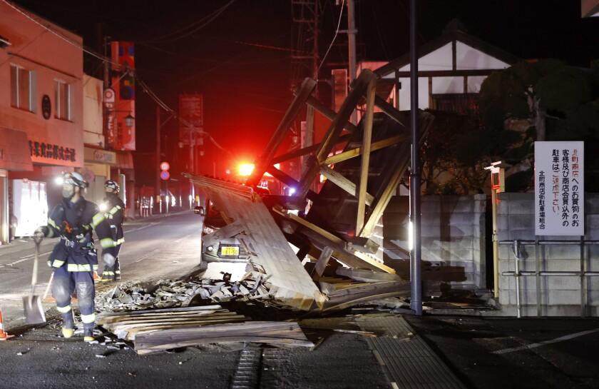 5 Videos Del Terremoto De Magnitud 7 3 En Japón Los Angeles Times