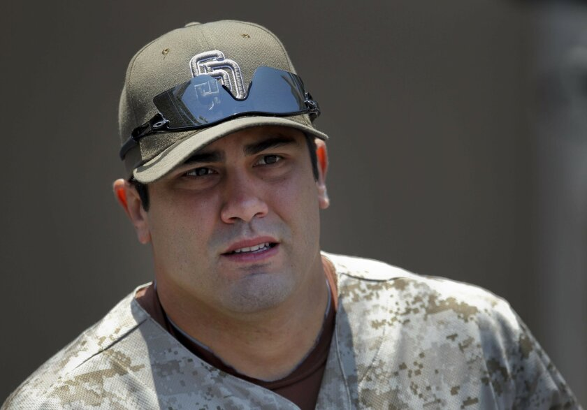 Left fielder Carlos Quentin signed a three year extension today with the Padres.