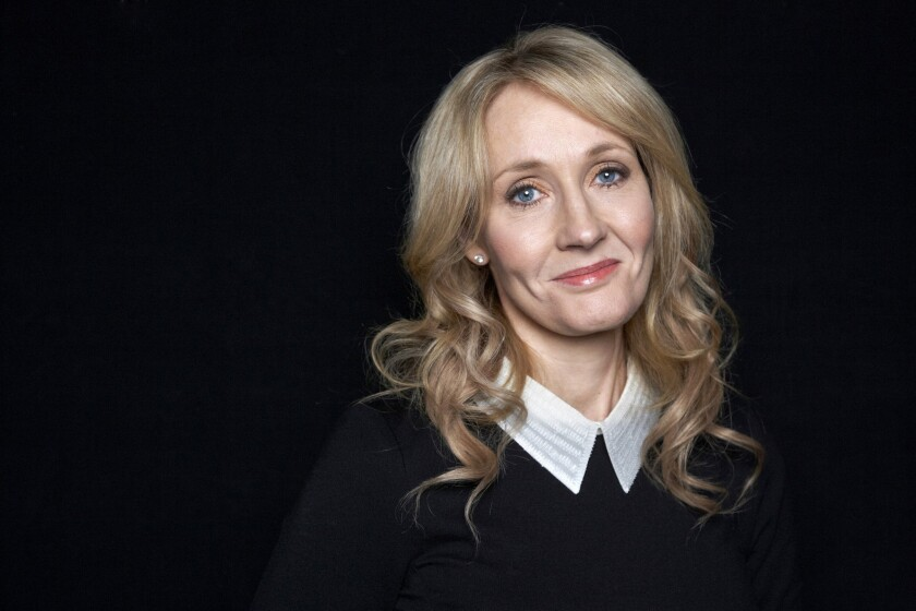 """Harry Potter"" author J.K. Rowling will receive the PEN/Allen Foundation Literary Service Award."