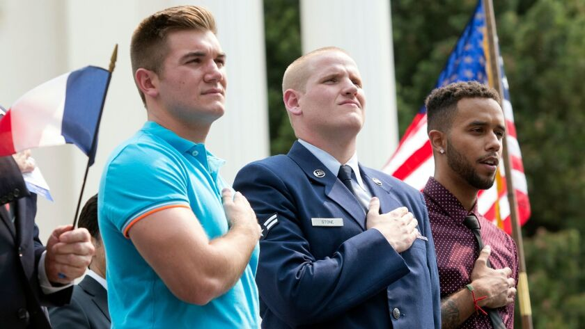 Three California men who stopped French train attack to star