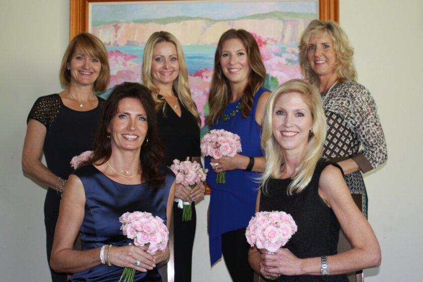 Las Patronas new members Sharon Luscomb, Stephanie LaBrucherie, Amy Carr, Lin Foletta, Michelle Parker and Nicole Hall-Brown. not pictured: Rita Haudenschild.