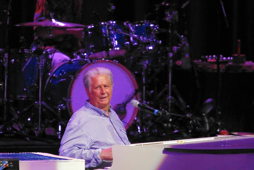 Brian Wilson performs at the Greek Theater on June 20, 2015. It was also his 73rd birthday.