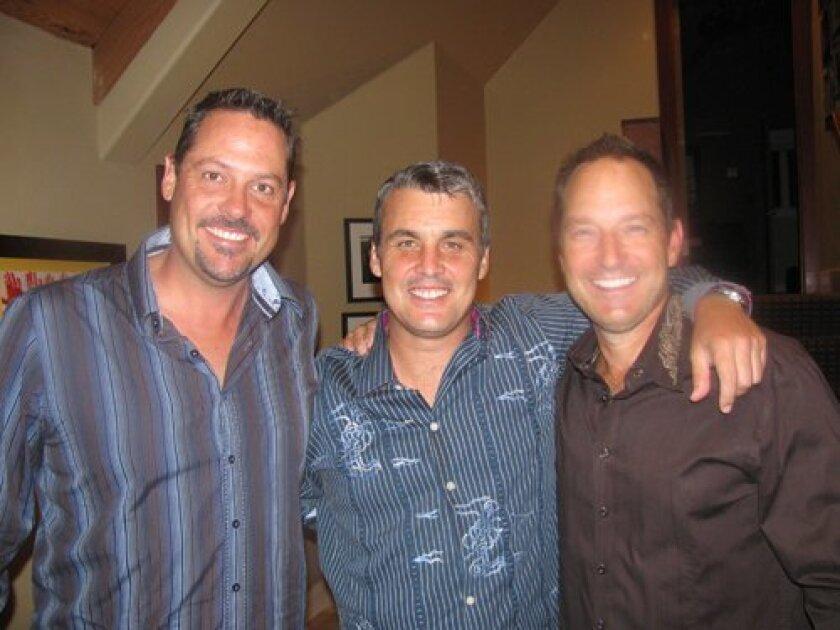 Jerry Morris, Simon Allen and PJ Mikolajewski
