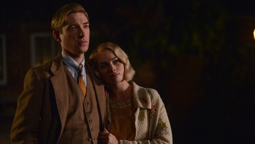 ** SNEAKS FALL 2017**DO NOT USE** Domhnall Gleeson and Margot Robbie in 'Goodbye Christopher Robin'