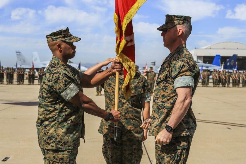 Marine squadron commander fired