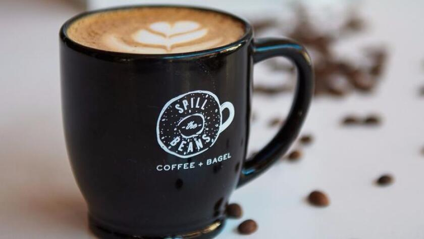 Spill the Beans will serve cappuccino, as well as other select coffee drinks on Friday. (Courtesy photo)