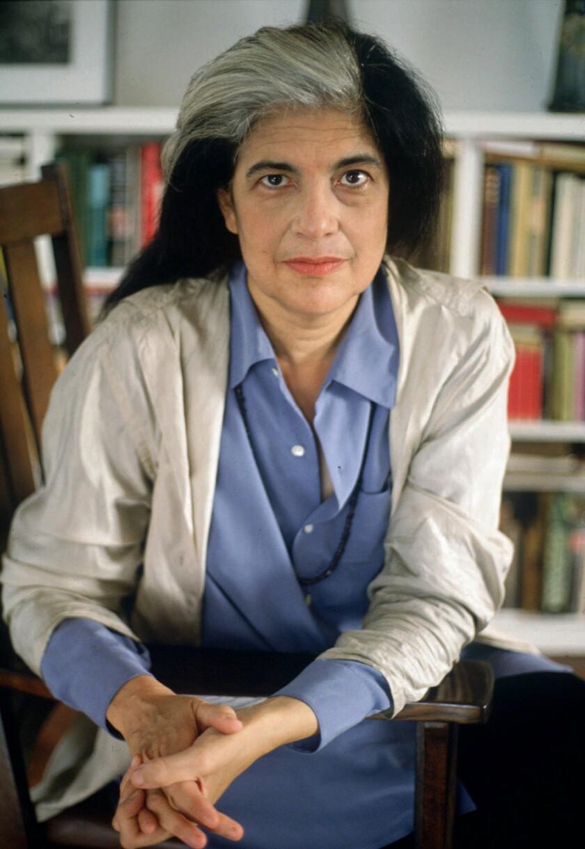 Susan Sontag in 1992.