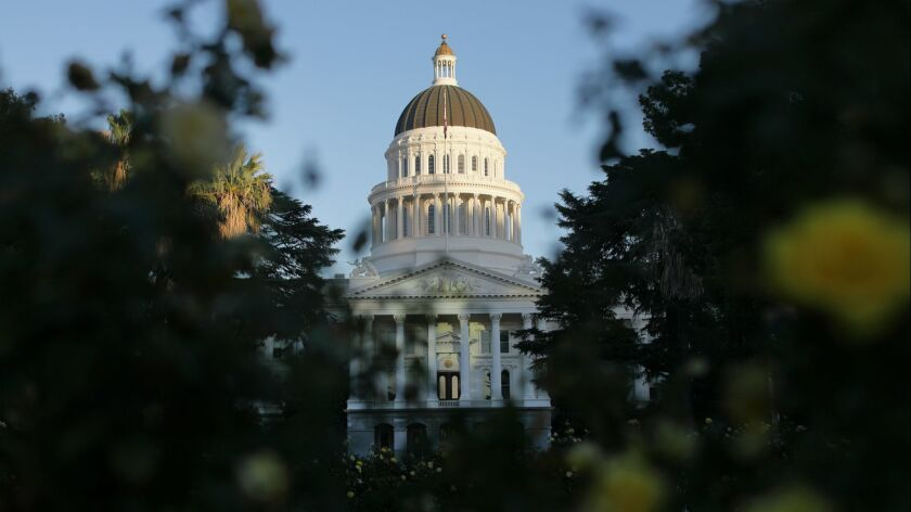 The Capitol in Sacramento.