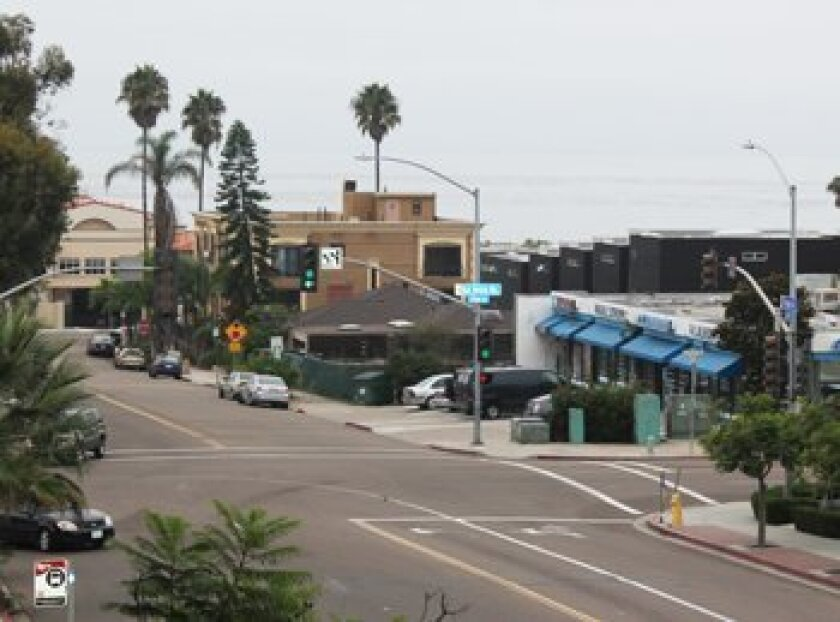 Gray skies prevailed over La Jolla. Photo: Halie Johnson