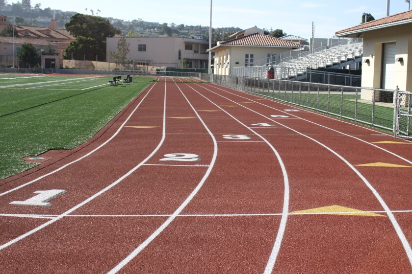 The renovated $12-million La Jolla High School Athletic Complex was unveiled in October 2016. It includes the replacement of the synthetic turf field and resurfacing of the running track.