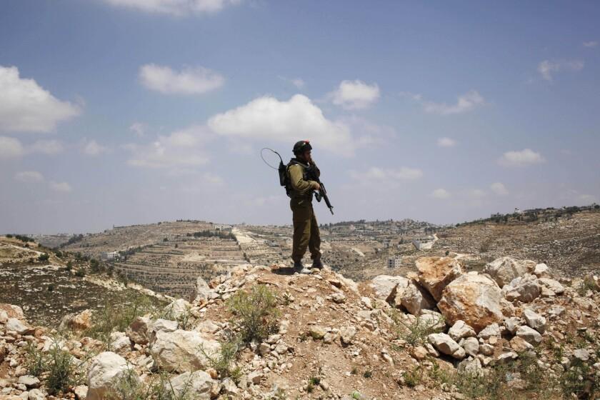 Mideast Israel Missing Teens