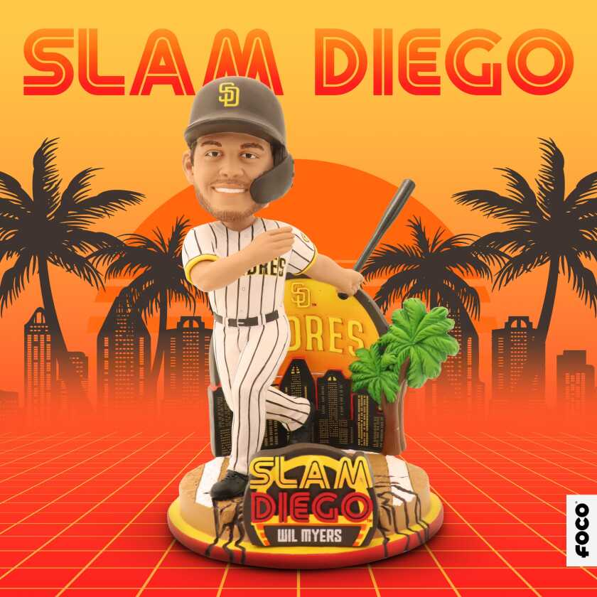Wil Myers' FOCO Slam Diego Padres bobblehead.