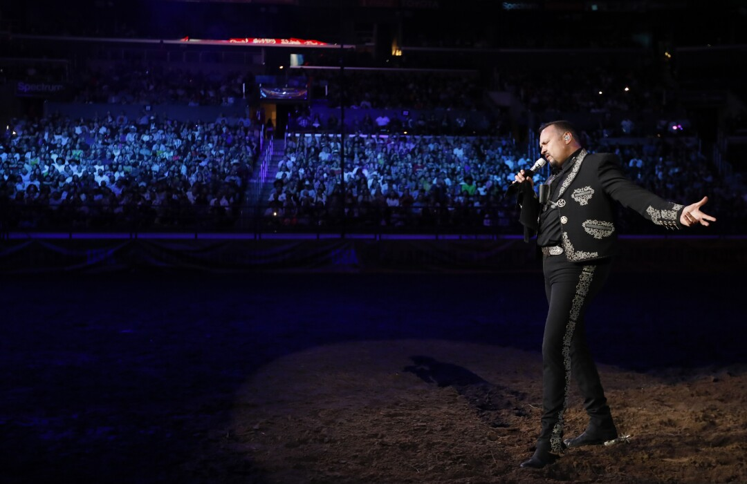 Pepe Aguilar at Staples Center
