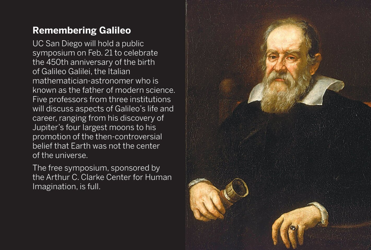 Remembering Galileo