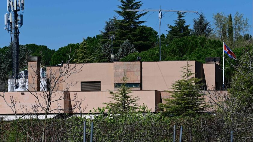 A bizarre takeover of North Korea's embassy in Spain has an