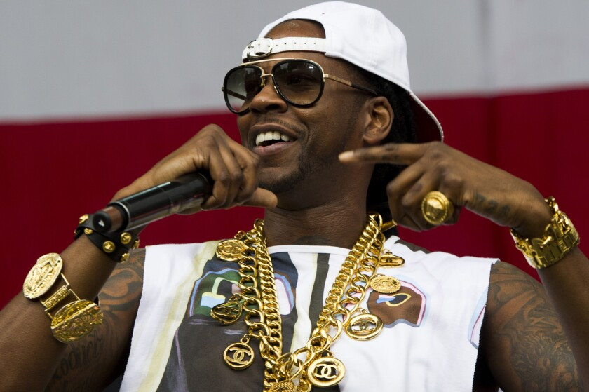 2 Chainz performing at the 2013 Budweiser Made in America Festival in Philadelphia.