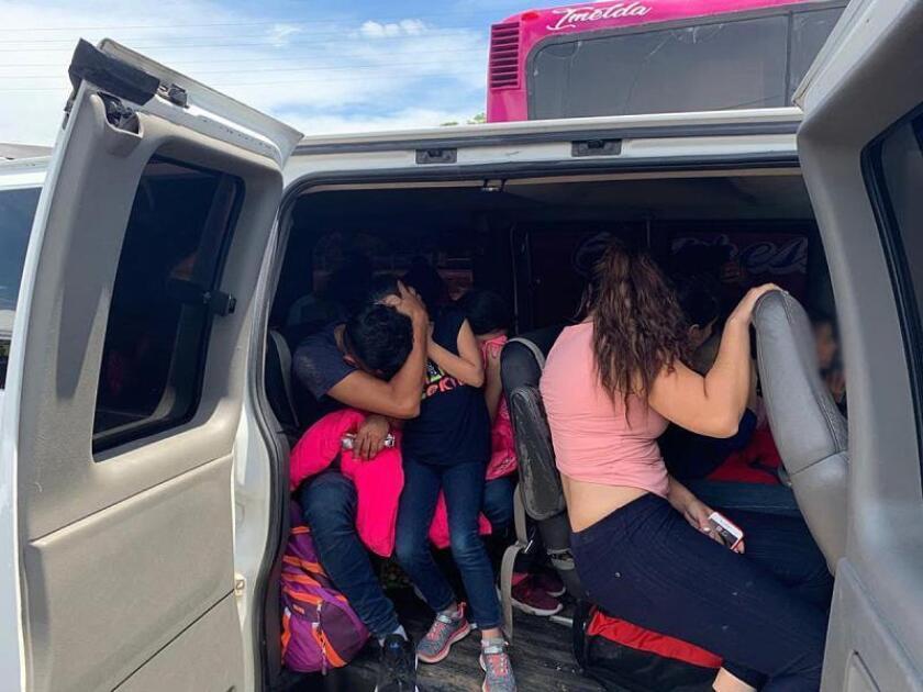 Interceptan a 167 migrantes de Asia, África y Centroamérica en este de México