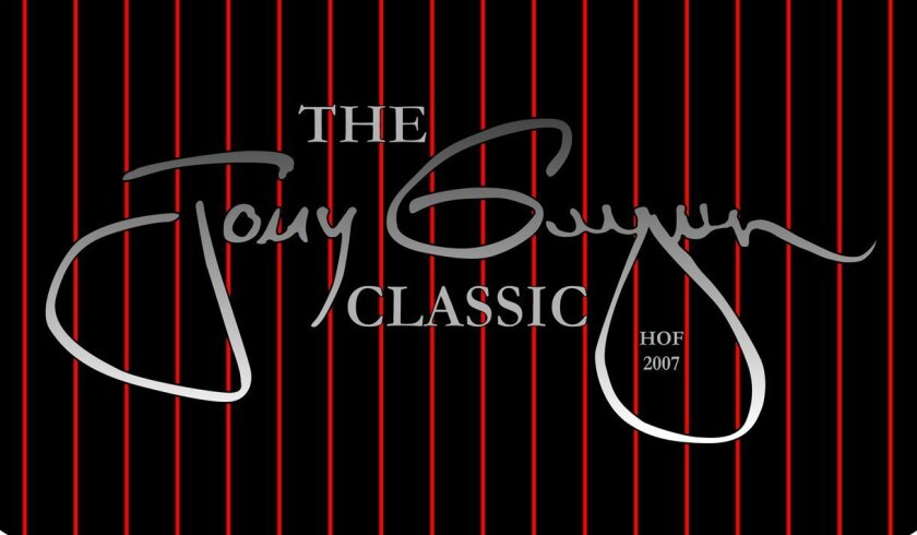 The inaugural Tony Gwynn Classic begins Feb. 26, 2016, and will be co-hosted by San Diego State and USD.