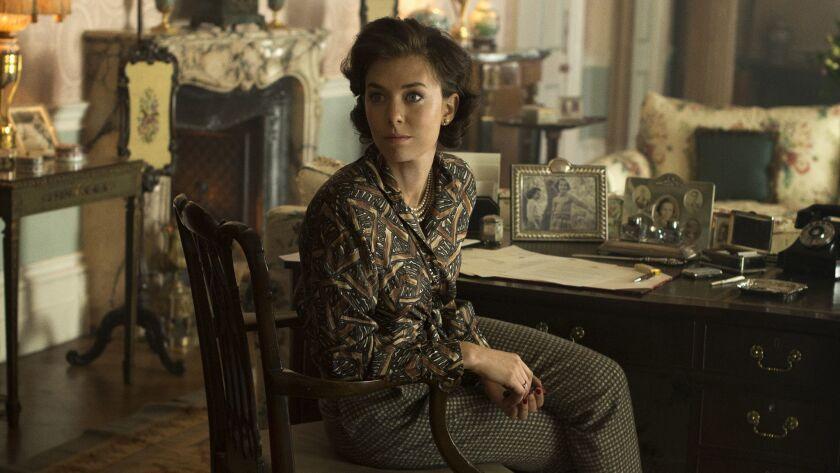 "Vanessa Kirby as Princess Margaret in Season 1 of ""The Crown."" Credit: Alex Bailey / Netflix"