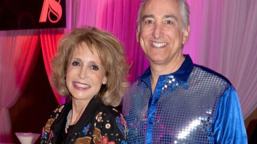 Leslie and Scott Seigel at the 40th anniversary gala for the Pacific Symphony. (Photo by Ann Chatil