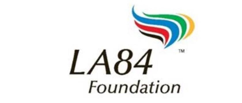 LA84 Foundation logo.