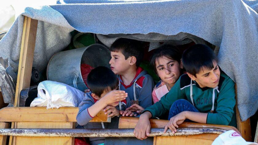 Arsal Syrian Refugees camp in Lebanon - 23 Jul 2018