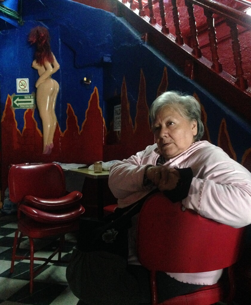 'La mami', escena del documental.