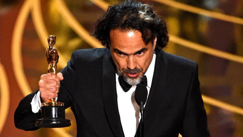 """Se trata del tercer Oscar seguido para México en la categoría de mejor director tras los obtenidos por Alfonso Cuarón (""""Gravity"""") y el propio Iñárritu con """"Birdman""""."""