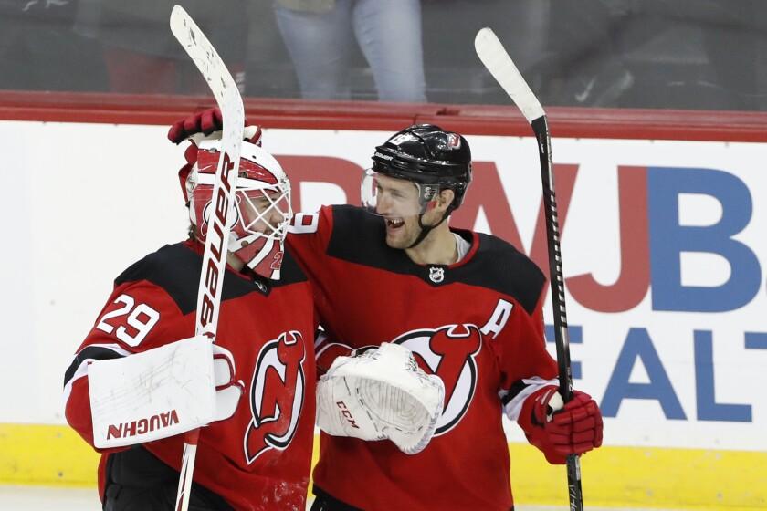 Bruins Devils Hockey