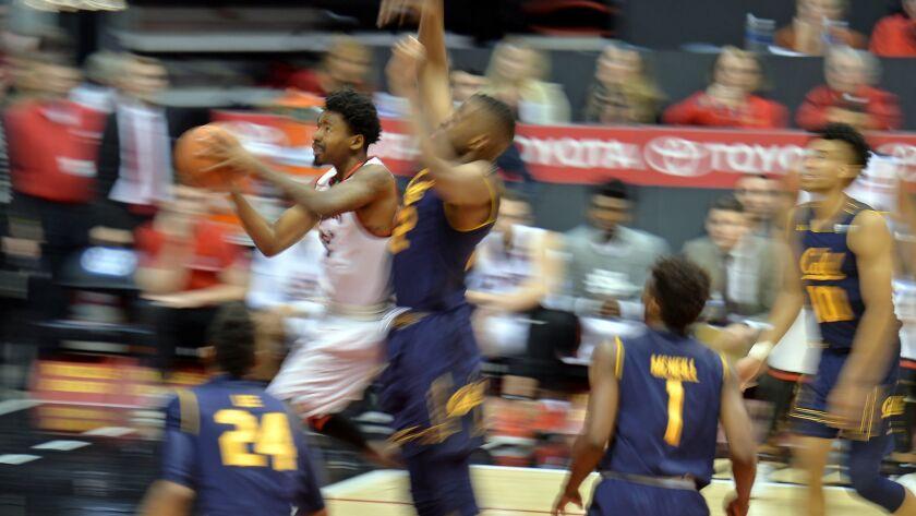 NCAA Basketball: California at San Diego State