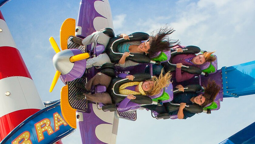 Zamperla's Air Race will be among the thrill rides at Alabama's Owa theme park.
