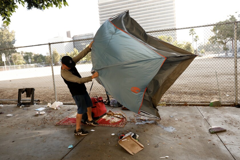 Justices back ruling letting homeless sleep on sidewalks