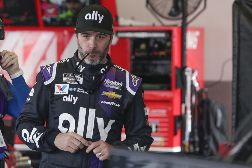 NASCAR Johnson Future Auto Racing
