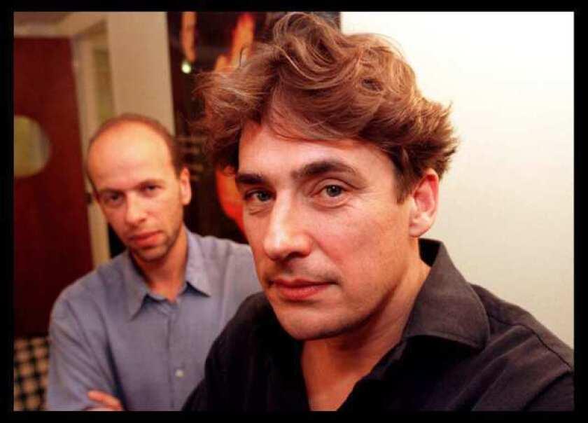Eric Fellner, left, and Tim Bevan will receive the PGA's David O. Selznick Award