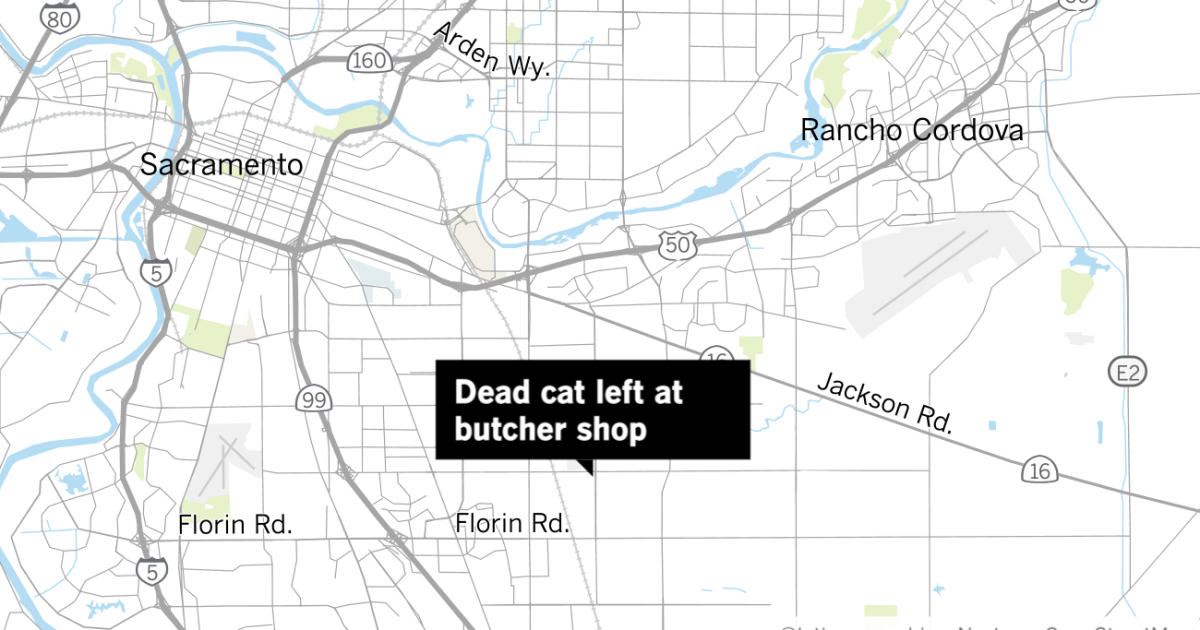 Dead cat left at Asian butcher investigated as possible hate crime  - Los Angeles Times