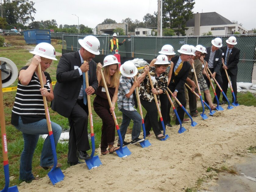 Officials, stakeholders and community members celebrated the rebuild of Earl Warren Middle School with a groundbreaking ceremony Oct. 16.