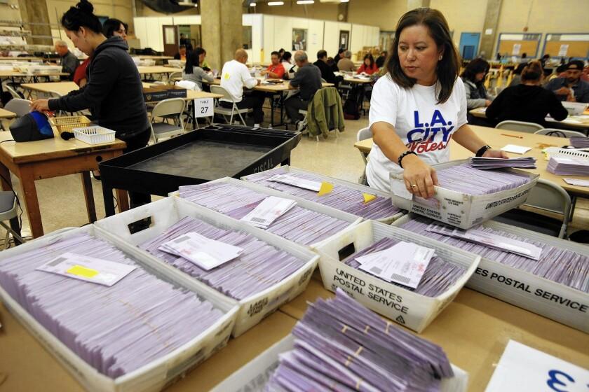 L.A. ballots
