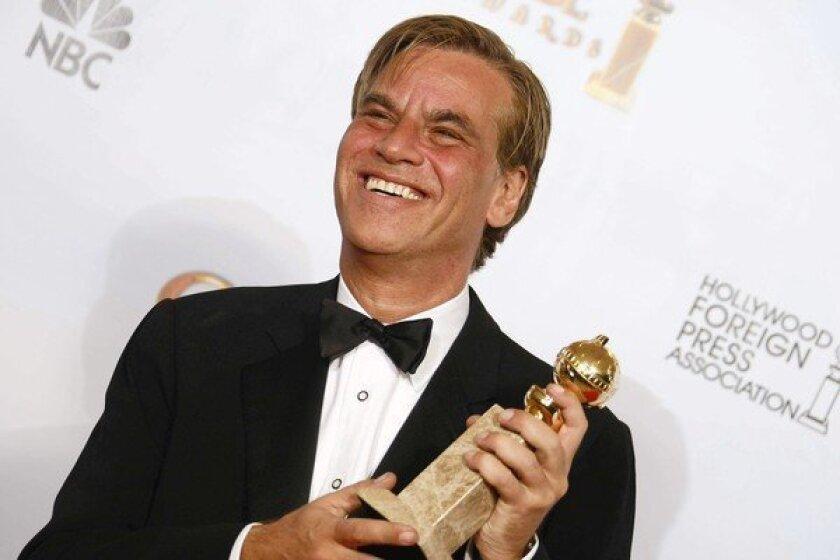 Aaron Sorkin at the 68th Golden Globe Awards in 2011.
