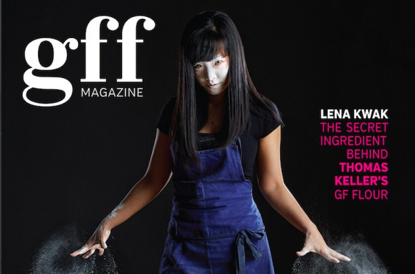 The cover of the first GFF magazine